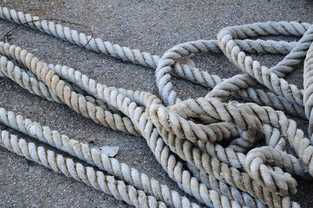 rope on the docks