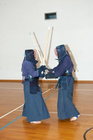 kendo performance during a sporting event