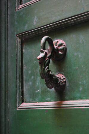 ancient iron handle