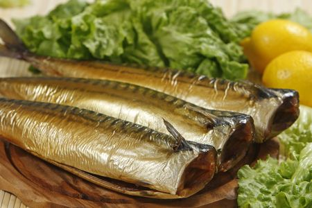smoked mackerel photo