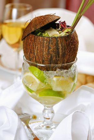 cocos: cocos nut salad
