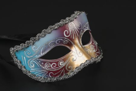 costume ball: venetian mask Stock Photo