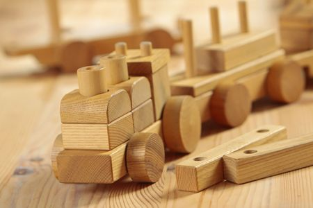 wooden toy photo