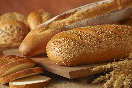 sustenance: group of bread