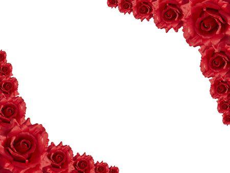 rose frame photo
