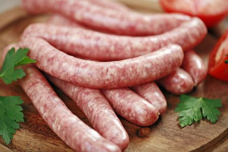 red sausages photo