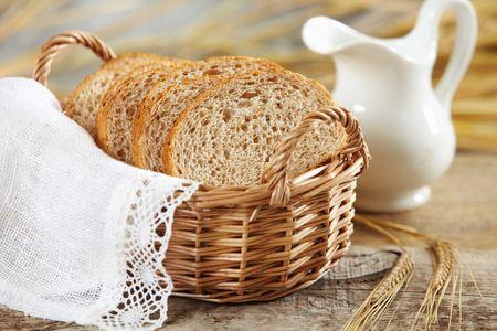 canasta de panes: Pan