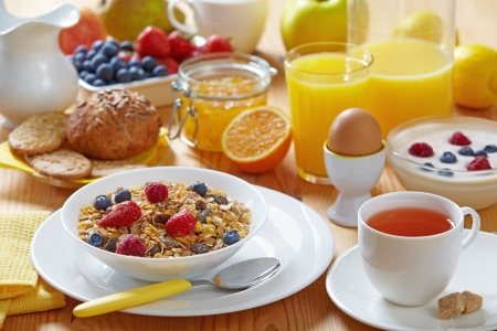 healthy breakfast Stock Photo - 7159502