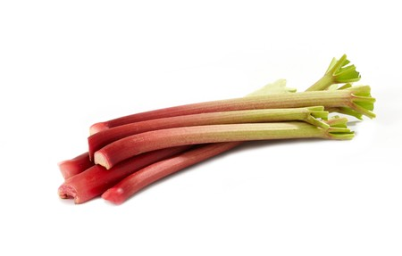 rhubarb: rhubarbs Stock Photo