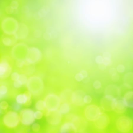 to shine: baeautiful green bokeh