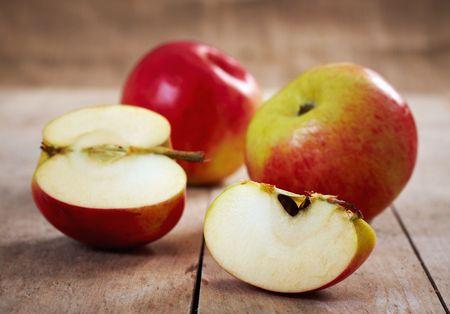 fresh apples photo
