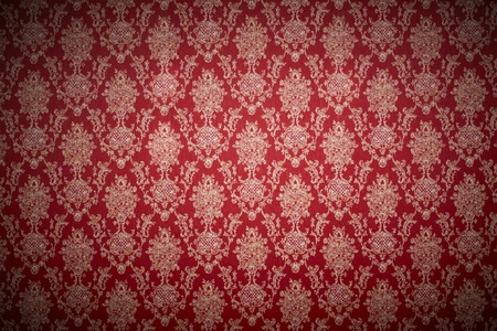 motive: red wallpaper background Stock Photo