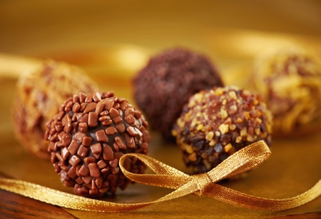 chocolate truffle: chocolate truffles