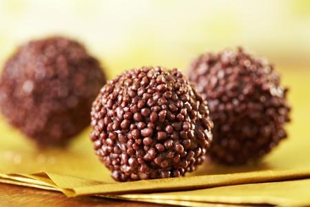 praline: chocolade truffels