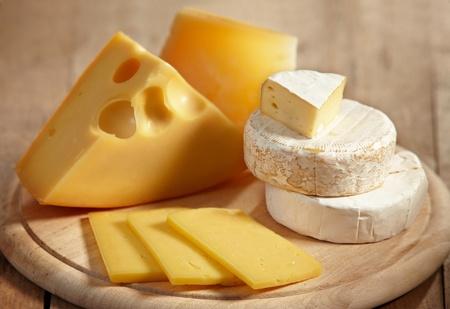 vaus types of cheese Stock Photo - 8775086
