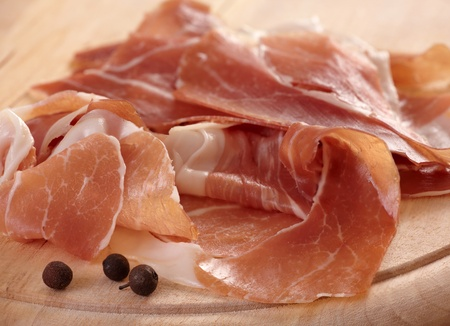 prosciutto meat photo