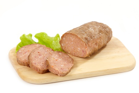 baked minced meat photo