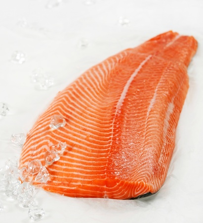 salmon fillet photo