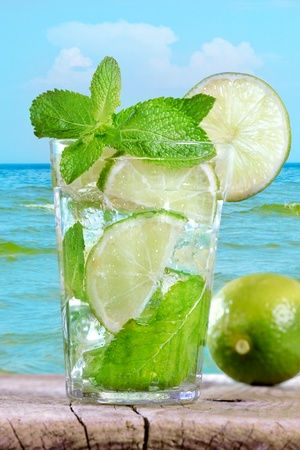 limonade: Mojito cocktail
