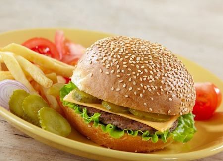 cheeseburger photo