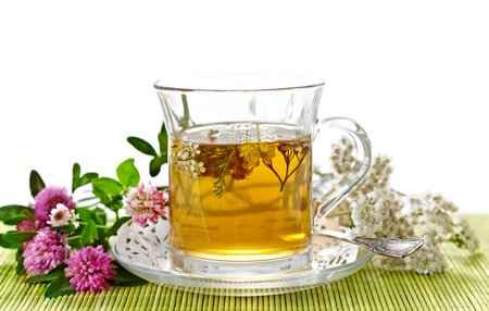 tea spoon: herbal tea
