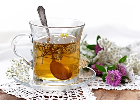 herb tea: herbal tea