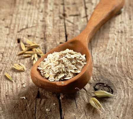 oat flakes photo