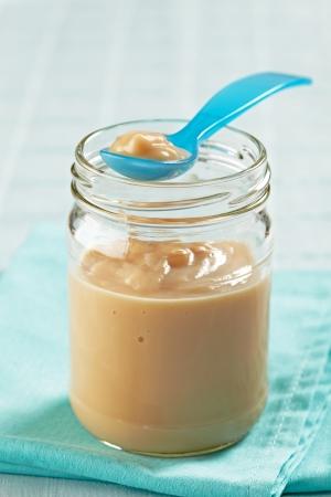plastic spoon: baby food