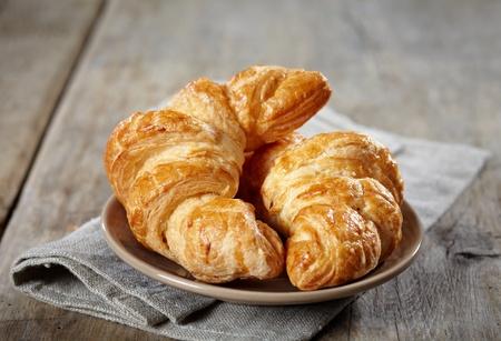croissant: Fresh baked croissants