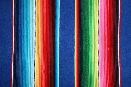 fleece fabric: mexican pattern