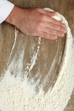 bakers hand Stock Photo - 13009765