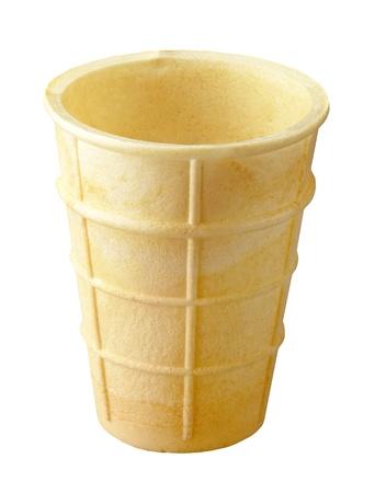helados en cono: de hielo vacía cono de helado