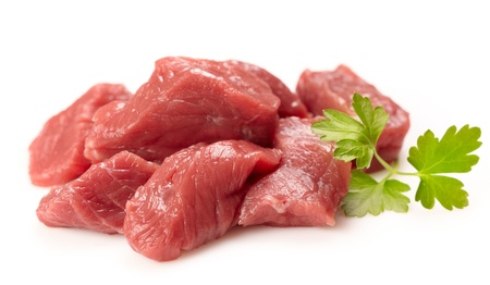 fresh raw meat photo