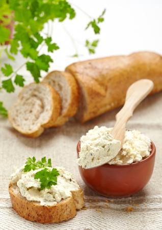 life loaf: fresh curd cheese