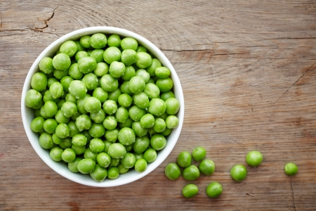 green peas photo