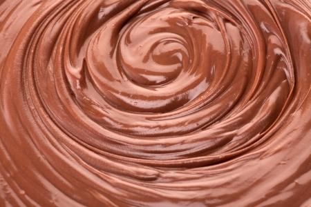 stirring: chocolate background