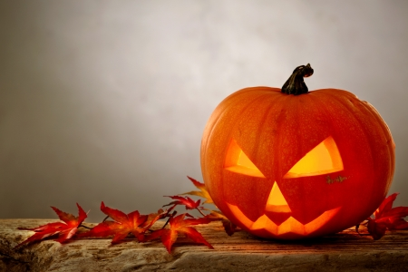cute halloween: Halloween pumpkin Stock Photo