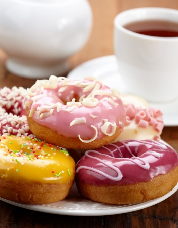 baked donuts photo