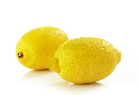 nutritive: two fresh lemons