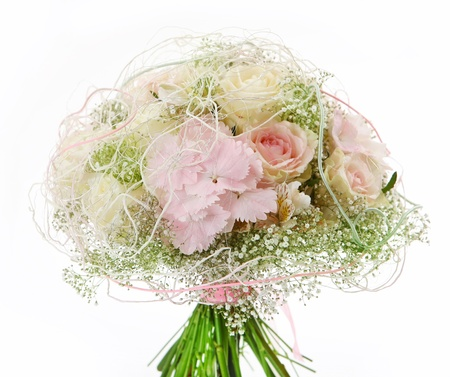 occasion: wedding bouquet Stock Photo