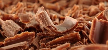 chocolate shaving background photo