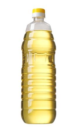 vinegar bottle: bottle of oil Stock Photo