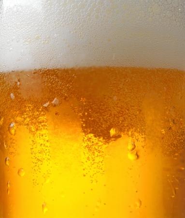 beer macro photo