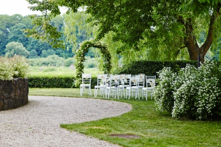 wedding chairs: Place for wedding ceremony