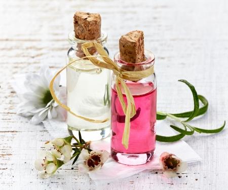 Flaschen Spa ätherische Öle für die Aromatherapie