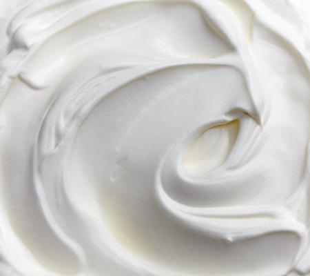 queso blanco: fragmento de fondo de la crema agria