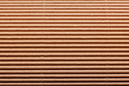 space rubbish: brown corrugated carton paper background