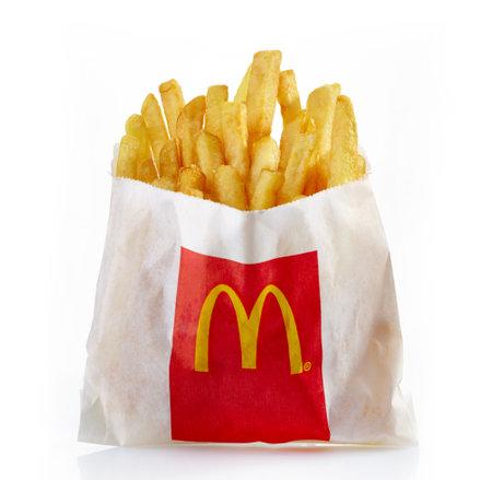 mcdonald: Riga,Latvia-April 09, 2014  McDonald