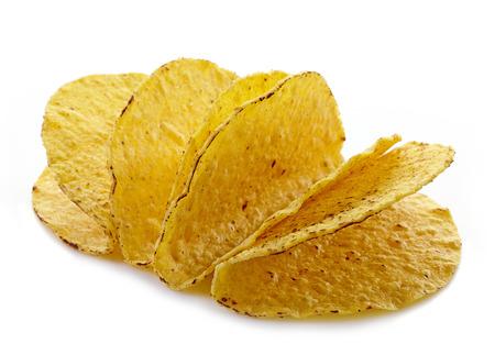 tortilla de maiz: cáscaras vacías de Tacos de comida mexicana