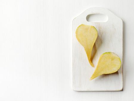 rutabaga: raw rutabaga on white cutting board